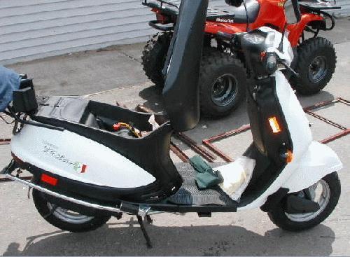 Kinetic 49cc Milano