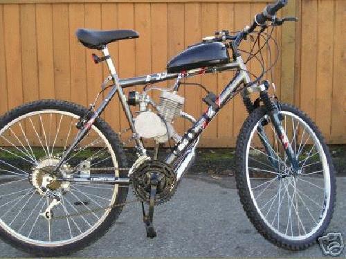 49cc Bicycle Gas Moped Kit